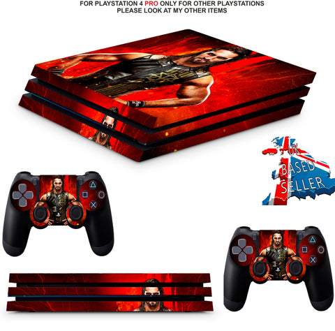 WWE 2K18 PS4 PRO SKINS DECALS (PS4 PRO VERSION) TEXTURED VINYL