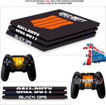CALL OF DUTY BLACK OPS 4 PS4 PRO SKINS DECALS (PS4 PRO VERSION) TEXTURED VINYL