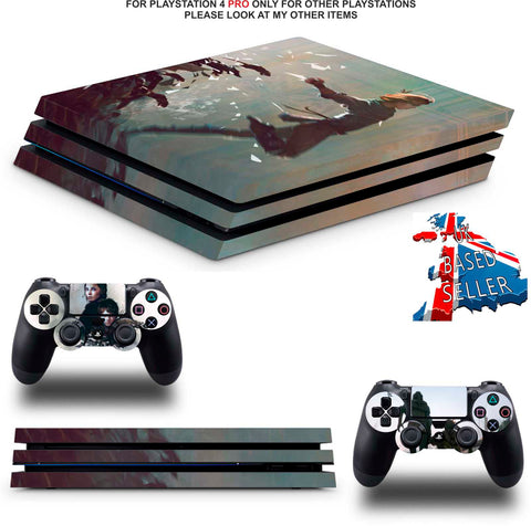 A PLAGUE TAIL OF INNOCENCE PS4 PRO SKINS DECALS (PS4 PRO VERSION) TEXTURED VINYL