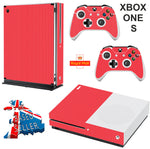 RED CARBON EFFECT XBOX ONE S (SLIM) *TEXTURED VINYL ! * PROTECTIVE SKIN DECAL WRAP