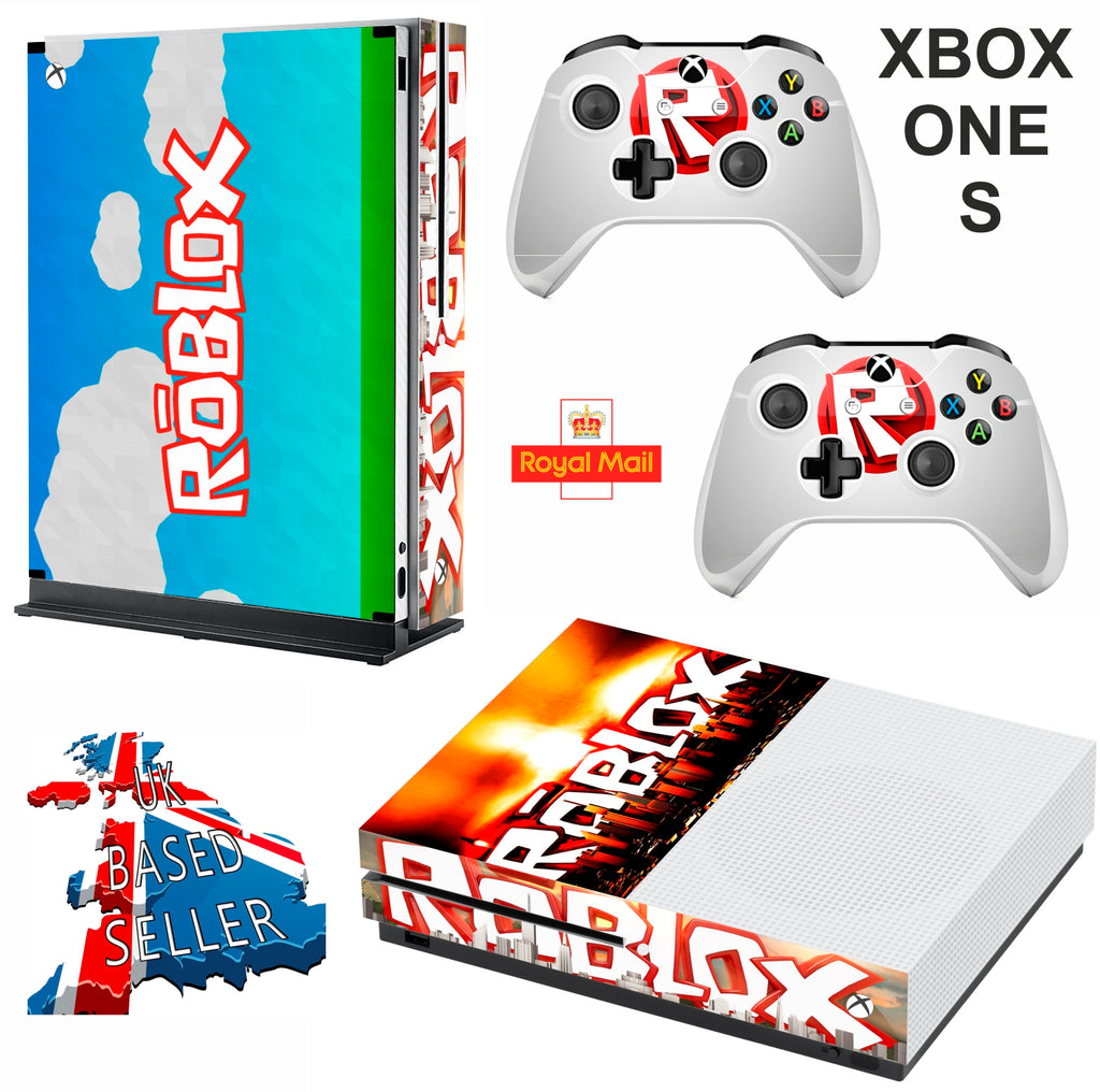 Roblox Xbox One S Slim Textured Vinyl Protective Skin Decal