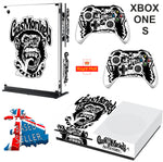 FAST N LOUD XBOX ONE S (SLIM) *TEXTURED VINYL ! * PROTECTIVE SKIN DECAL WRAP