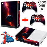 SPACE 8 XBOX ONE S (SLIM) *TEXTURED VINYL ! * PROTECTIVE SKIN DECAL WRAP