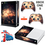 SPACE 9 XBOX ONE S (SLIM) *TEXTURED VINYL ! * PROTECTIVE SKIN DECAL WRAP
