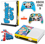 FAMILY GUY XBOX ONE S (SLIM) *TEXTURED VINYL ! * PROTECTIVE SKIN DECAL WRAP