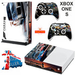 FORZA 7 XBOX ONE S (SLIM) *TEXTURED VINYL ! * PROTECTIVE SKIN DECAL WRAP