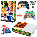 DRAGON BALL Z XBOX ONE S (SLIM) *TEXTURED VINYL ! * PROTECTIVE SKIN DECAL WRAP