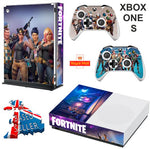 FORTNITE XBOX ONE S (SLIM) *TEXTURED VINYL ! * PROTECTIVE SKIN DECAL WRAP