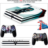 DESTINY 2 PS4 PRO SKINS DECALS (PS4 PRO VERSION) TEXTURED VINYL