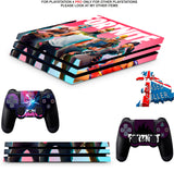 FORTNITE SEASON 5 PS4 PRO SKINS DECALS (PS4 PRO VERSION) TEXTURED VINYL