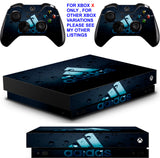 ADIDAS BUBBLES XBOX ONE X *TEXTURED VINYL ! * PROTECTIVE SKINS DECALS STICKERS