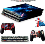 STAR WARS BATTLEFRONT 2 PS4 PRO SKINS DECALS (PS4 PRO VERSION) TEXTURED VINYL