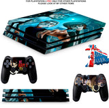 WE ARE HAPPY PS4 PRO SKINS DECALS (PS4 PRO VERSION) TEXTURED VINYL