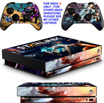 STARLINK BATTLE FOR ATLAS XBOX ONE X *TEXTURED VINYL ! * PROTECTIVE SKINS DECALS STICKERS