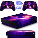NEBULA GALAXY XBOX ONE X *TEXTURED VINYL ! * PROTECTIVE SKINS DECALS STICKERS