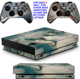 ACE COMBAT 7 XBOX ONE X *TEXTURED VINYL ! * PROTECTIVE SKINS DECALS STICKERS