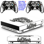 FAST N LOUD XBOX ONE X *TEXTURED VINYL ! * PROTECTIVE SKINS DECALS STICKERS