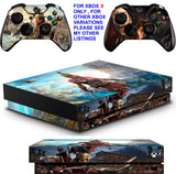 ASSASSINS CREED ODYSSEY XBOX ONE X *TEXTURED VINYL ! * PROTECTIVE SKINS DECALS STICKERS