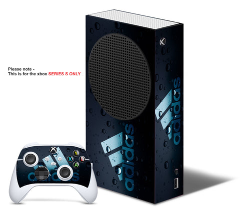 ADIDAS BUBBLES Xbox SERIES S *TEXTURED VINYL ! * SKINS DECALS STICKERS