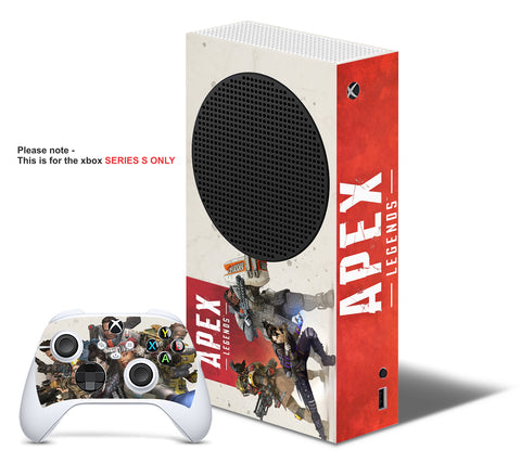 APEX LEGENDS Xbox SERIES S *TEXTURED VINYL ! * SKINS DECALS STICKERS