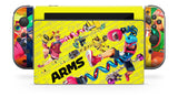 ARMS NINTENDO SWITCH **TEXTURED VINYL ! *  SKINS DECALS WRAP