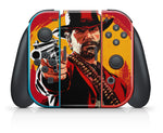 RED DEAD REDEMPTION 2 NINTENDO SWITCH **TEXTURED VINYL ! *  SKINS DECALS WRAP