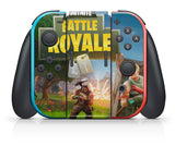 FORTNITE BATTLE ROYALE NINTENDO SWITCH **TEXTURED VINYL ! *  SKINS DECALS WRAP