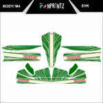 M4 TONYKART 2013 EVK FULL KART STICKER KIT