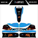 M6 KEN BLOCK FULL KART STICKER KIT