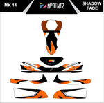 MK14 SHADOW FADES FULL KART STICKER KIT