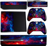 NEBULA 4  XBOX ONE *TEXTURED VINYL ! *PROTECTIVE VINYL SKIN DECAL WRAP