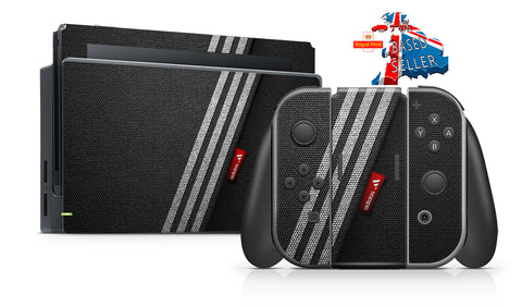 ADIDAS TEXTURE NINTENDO SWITCH **TEXTURED VINYL ! *  SKINS DECALS WRAP