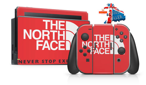 NORTH FACE NINTENDO SWITCH **TEXTURED VINYL ! *  SKINS DECALS WRAP