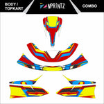 TOPKART/ZIPKART BAMBINO COMBO FULL STICKER KIT