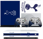 TOTTENHAM XBOX ONE S (SLIM) *TEXTURED VINYL ! * PROTECTIVE SKIN DECAL WRAP