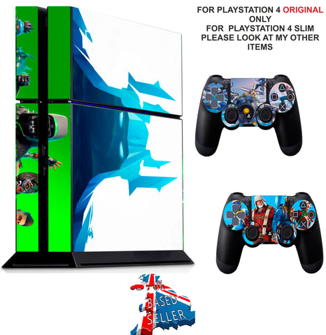 FORTNITE SEASON 7 PS4 *TEXTURED VINYL ! * PROTECTIVE SKINS DECAL WRAP STICKERS