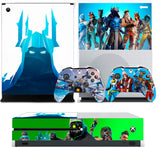 FORTNITE SEASON 7 XBOX ONE S (SLIM) *TEXTURED VINYL ! * PROTECTIVE SKIN DECAL WRAP
