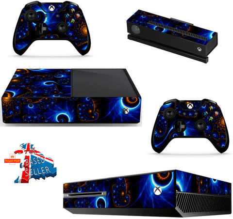 SWIRLS XBOX ONE *TEXTURED VINYL ! *PROTECTIVE VINYL SKIN DECAL WRAP