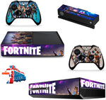 FORTNITE XBOX ONE*TEXTURED VINYL ! *PROTECTIVE SKIN DECAL WRAP