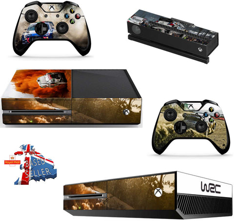 WRC 8 XBOX ONE *TEXTURED VINYL ! *PROTECTIVE VINYL SKIN DECAL WRAP