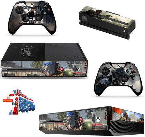 CALL OF DUTY MODERN WARFARE XBOX ONE *TEXTURED VINYL ! *PROTECTIVE VINYL SKIN DECAL WRAP