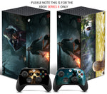 FRIDAY 13TH Xbox SERIES X *TEXTURED VINYL ! * SKINS DECALS STICKERS WRAP
