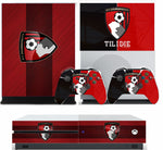 AFC BOURNEMOUTH XBOX ONE S (SLIM) *TEXTURED VINYL ! * PROTECTIVE SKIN DECAL WRAP