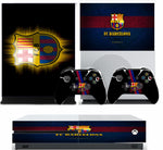 BARCELONA FC XBOX ONE S (SLIM) *TEXTURED VINYL ! * PROTECTIVE SKIN DECAL WRAP