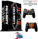 CALL OF DUTY BLACK OPS 3 PS4 *TEXTURED VINYL ! * PROTECTIVE SKINS DECAL WRAP STICKERS