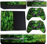 GREEN LEAF XBOX ONE *TEXTURED VINYL ! *PROTECTIVE VINYL SKIN DECAL WRAP