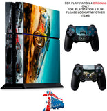 DIRT RALLY PS4 *TEXTURED VINYL ! * PROTECTIVE SKINS DECAL WRAP STICKERS