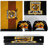 HULL FC XBOX ONE S (SLIM) *TEXTURED VINYL ! * PROTECTIVE SKIN DECAL WRAP