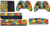 LEGO XBOX ONE *TEXTURED VINYL ! *PROTECTIVE VINYL SKIN DECAL WRAP