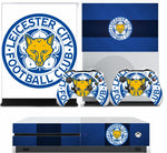 LEICESTER CITY 1 XBOX ONE S (SLIM) *TEXTURED VINYL ! * PROTECTIVE SKIN DECAL WRAP